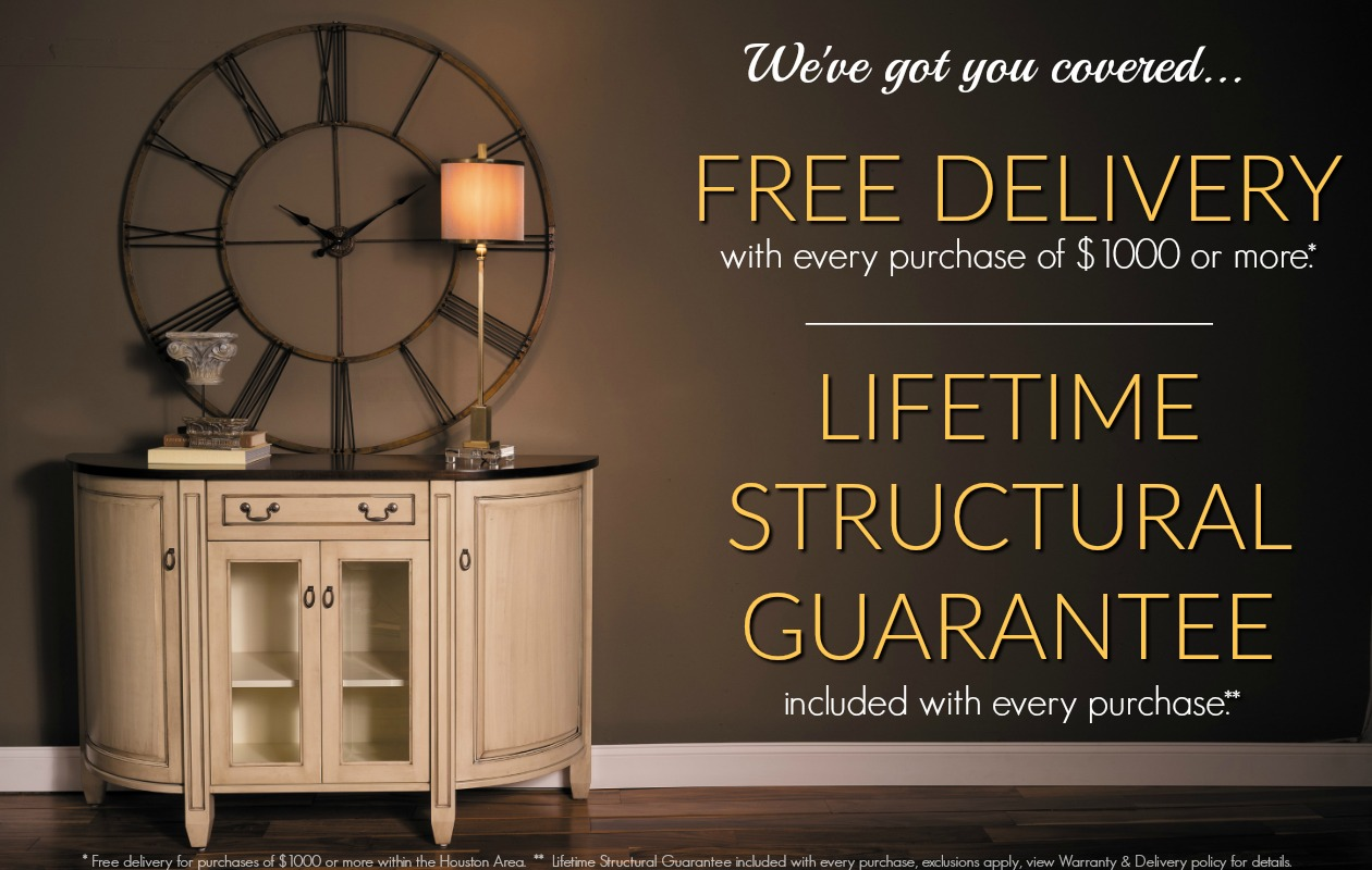 Our Warranty   Customer Promise. E G Amish Furniture Houston TX   E G Warranty   Delivery