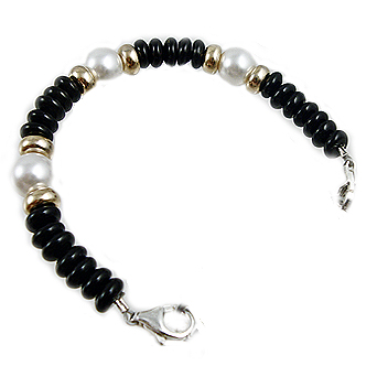 Luna Pearl Medical ID Bracelet Jewelry