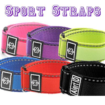 Black Medical Sports Strap