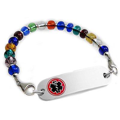 Color My World Petite Medical Bracelet