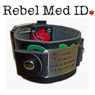 Leather Medical Band