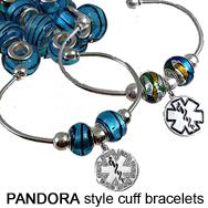 More Medical ID Alert Bracelets - Gemstone Globes - Childrens
