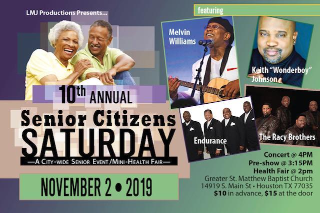 Senior Citizens Saturday 2019