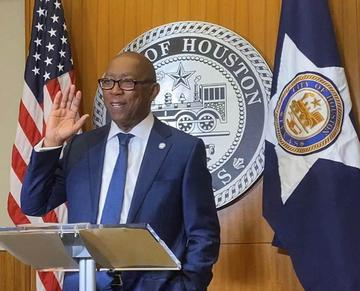 GOSPEL 1360/96.9 WOULD LIKE TO CONGRATULATE MAYOR SYLVESTER TURNER!