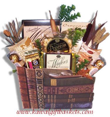 Classics Book Gift Basket