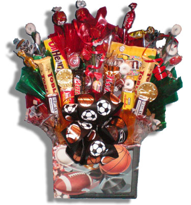 All Star Candy Bouquet