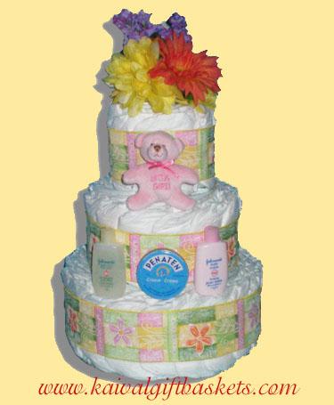 Baby Cake Diaper Cake