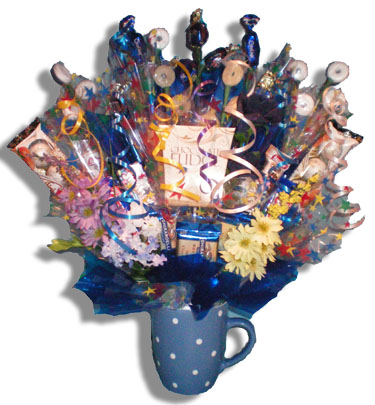 Bluebell Candy Bouquet