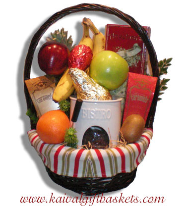 Chocolate Fondue Gift Basket