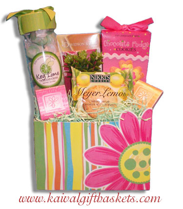 Citrus garden easter gift basket easter gift baskets canada negle Image collections