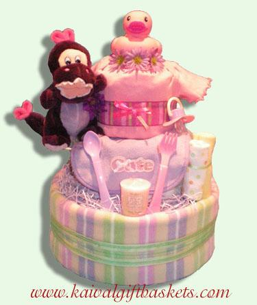 Cute & Cuddly Diaper Cakes Canada