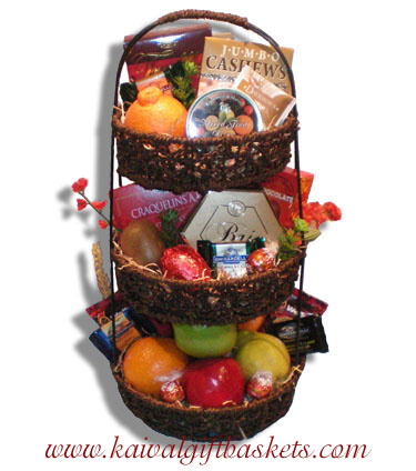 Fruit Tower Gift Basket Canada