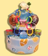 Future Star Diaper Cake