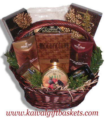 Greetings Gourmet Gift Basket