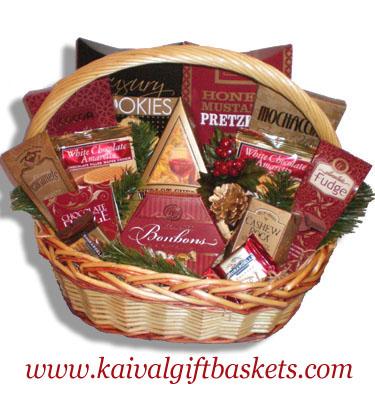 Indulgence Gourmet Gift Basket