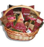 Indulgence Gourmet Gift Basket Manitoba-Free Shipping