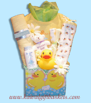 Just Ducky Baby Gift Baskets