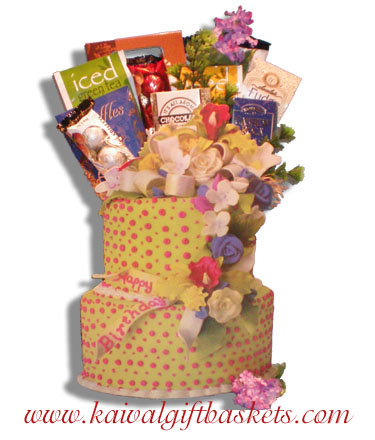 Layers- Birthday Gift Baskets Montreal