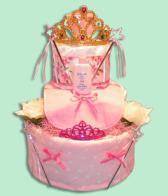 Little Princess Girl Diaper Cake