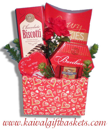 Love Letters gift basket