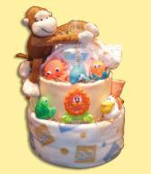 Munchkin-Baby  Diaper Cake