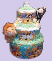 Noah's Ark Diaper Cakes Montreal