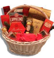 Festive Christmas Gift Basket