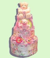 Precious Angel Girl Diaper Cake