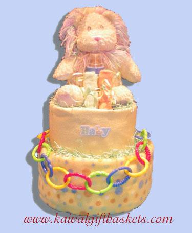 Pride Diaper Cake