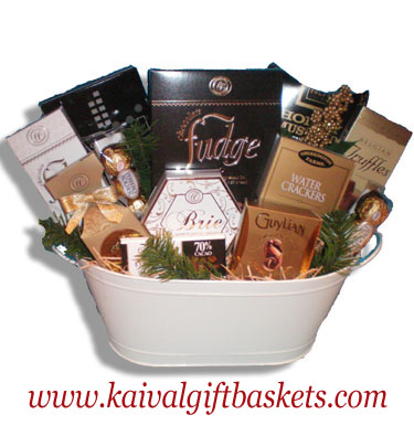 Sentiments Gift Basket