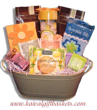 Springtime Thank You Gift Basket