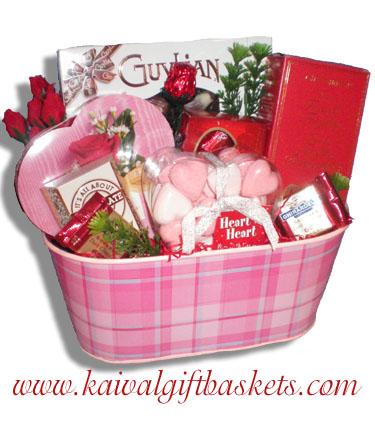 Sweethearts Gift Basket