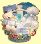 Teddies Baby Gift Basket Vancouver