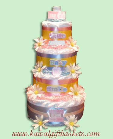 Twins Diaper Cake Canada