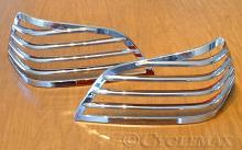 Goldwing GL1800 Add On Ribbed Trunk Light Grilles