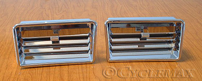 GL1800 Chrome Lower Vents