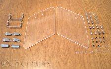 Spyder RT Lower Below Mirror Air Deflectors