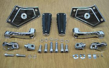 2018 Goldwing Adjustable Passenger Pegs