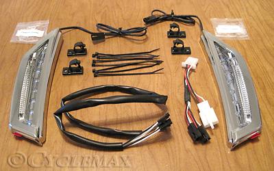 GL1800 Fairing Scoop Running Lights