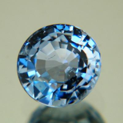 Marine blue Ceylon sapphire