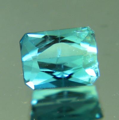 Metallic blue Afghani indicolite