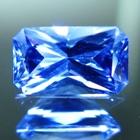 Lively rich sky blue Ceylon sapphire
