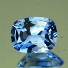 Bright sky blue Ceylon sapphire