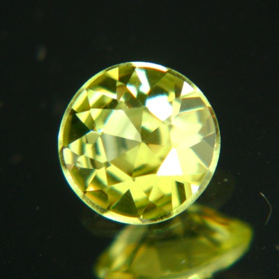 round perfect cut chrysoberyl