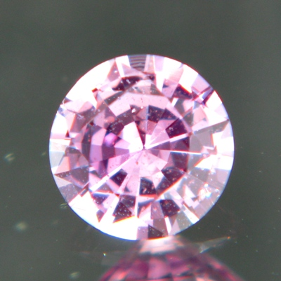 Lavender pink African sapphire