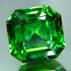 square shape jungle green tourmaline gemstone no-heat, untreated