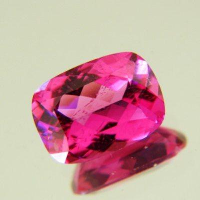 Rich purplish pink Nigerian Tourmalin