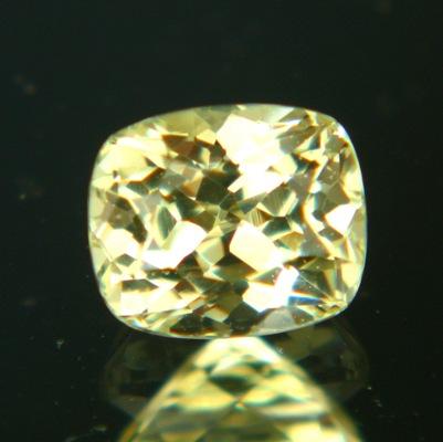 Golden lemon African sapphire