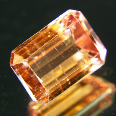 pink tourmaline with color change