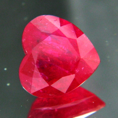 5 carat unheated ruby